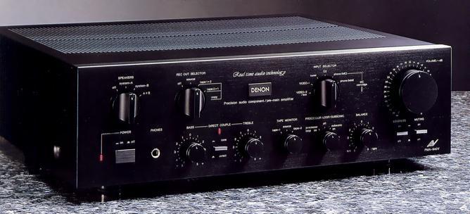 Amply Denon PMA-940 - Amply nghe nhạc chất lượng - nguyên bản