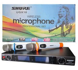 Micro Shure - Micro karaoke Shure UG-X10 xịn đẹp