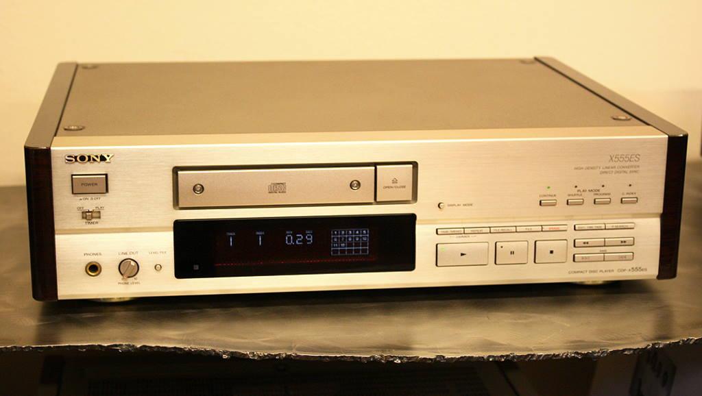 Đầu CD SONY X555ES hàng chất lượng cao