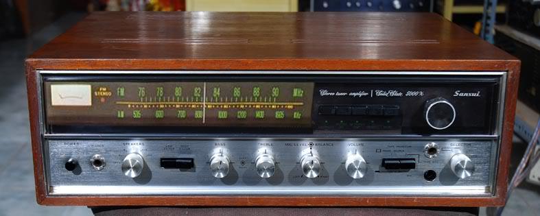 ampli Sansui 5000X