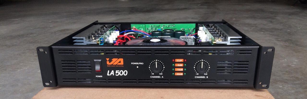 Công suất đẩy JA LA500