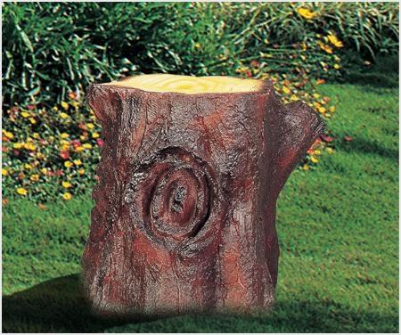 Loa trang trí sân vườn hình gốc cây DG-3102