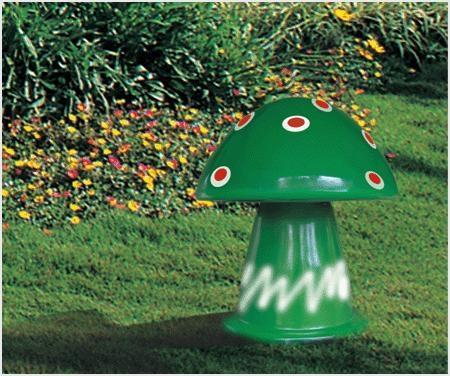 Loa trang trí sân vườn hình cây nấm DG-3104