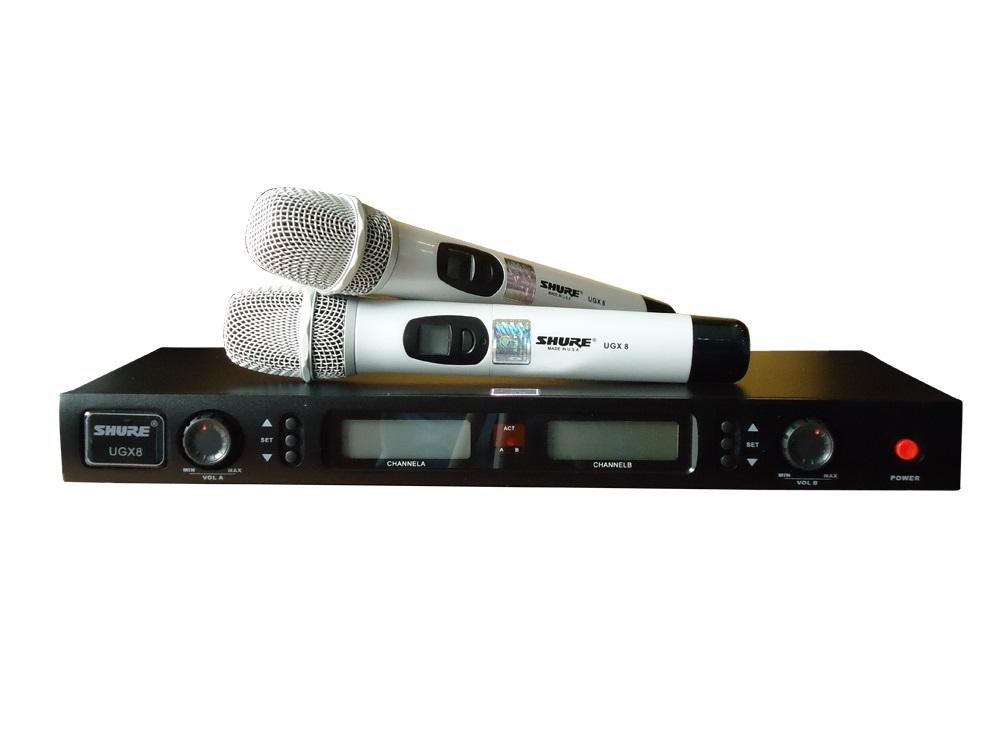 Micro Shure - Micro karaoke Shure UG-X8 xịn đẹp