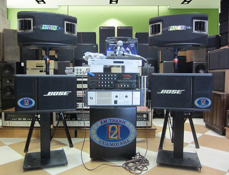 Dàn karaoke K50 - Dàn karaoke mẫu chuyên nghiệp